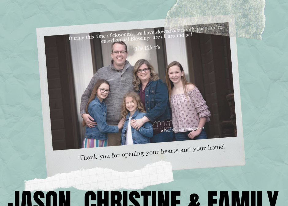 Foster Family Feature: Jason & Christine's Family